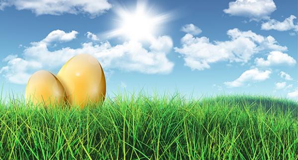 a tojás felálló állapotban lóg