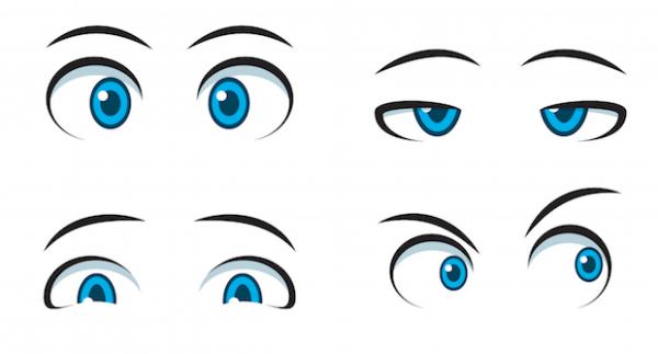 A szem a lélek tükre - felismered ki van a képen? Kvízjáték